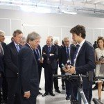 Italian Prime Minister Gentiloni visits SITAEL and discovers ESB